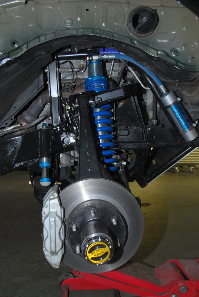 Toyota W I Y Coilover Shock Hoops Front Solo Motorsports
