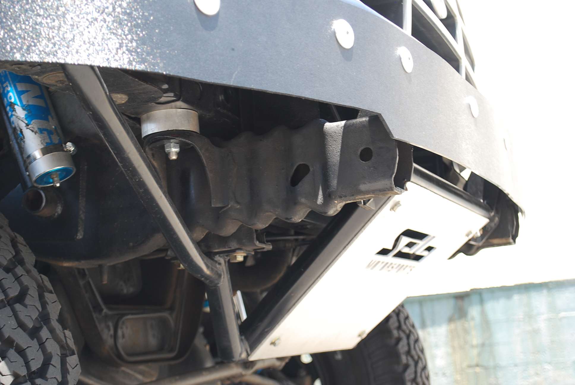 Ford Bronco / F-150 Prerunner Front Bumper with ABS ...