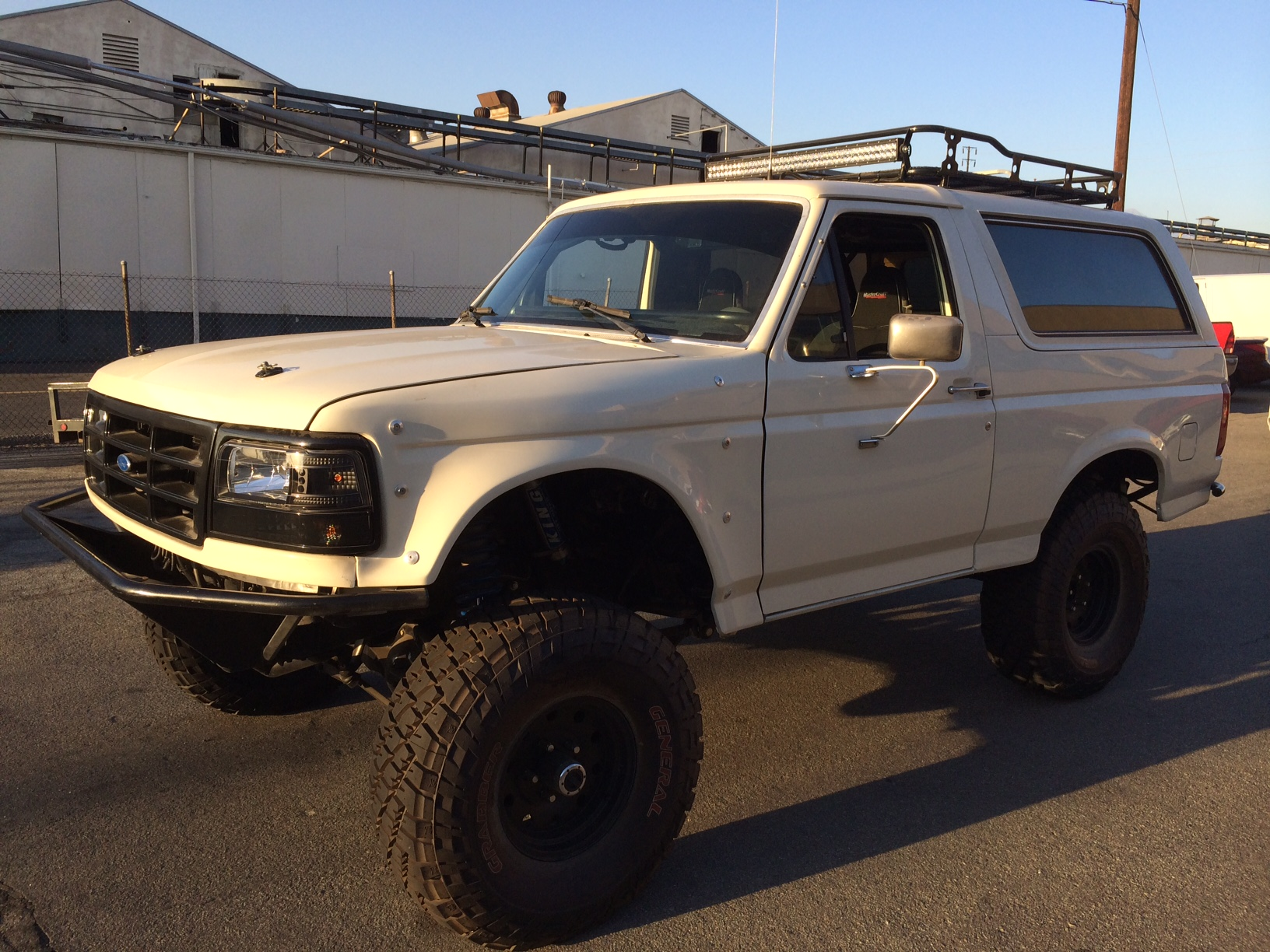 Stage 5 Bronco Ultimate Long Travel Front Rear