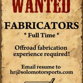 Looking for Full Time Fabricators