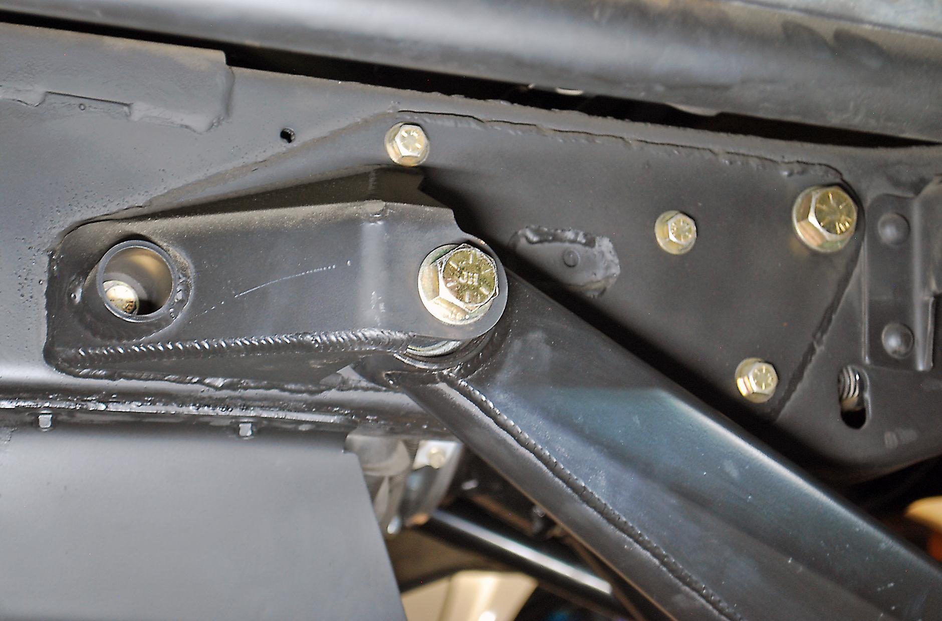 4 Link Ford Bronco Frame Pivots Solo Motorsports 1980