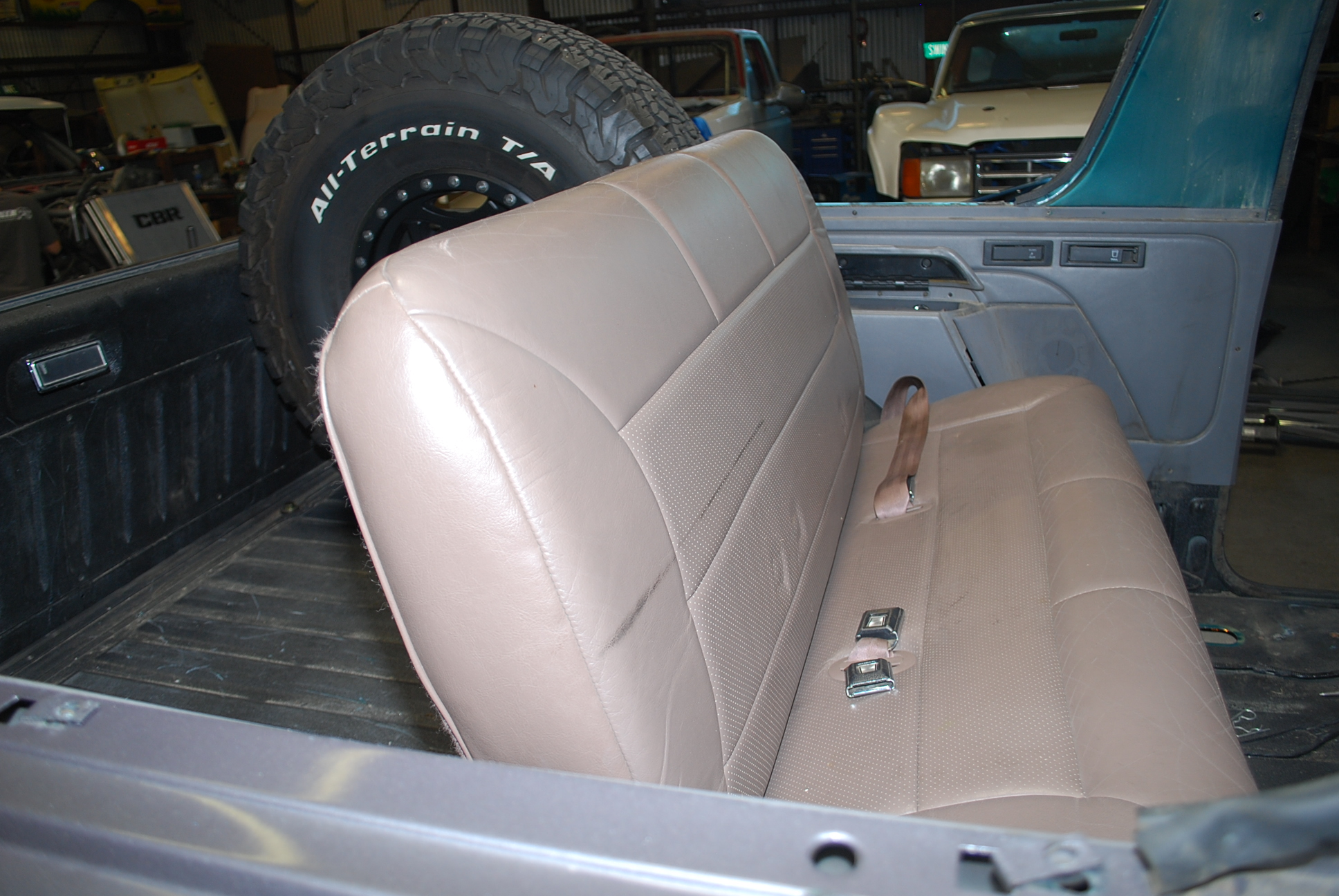 Ford Bronco Back Seat Spacer
