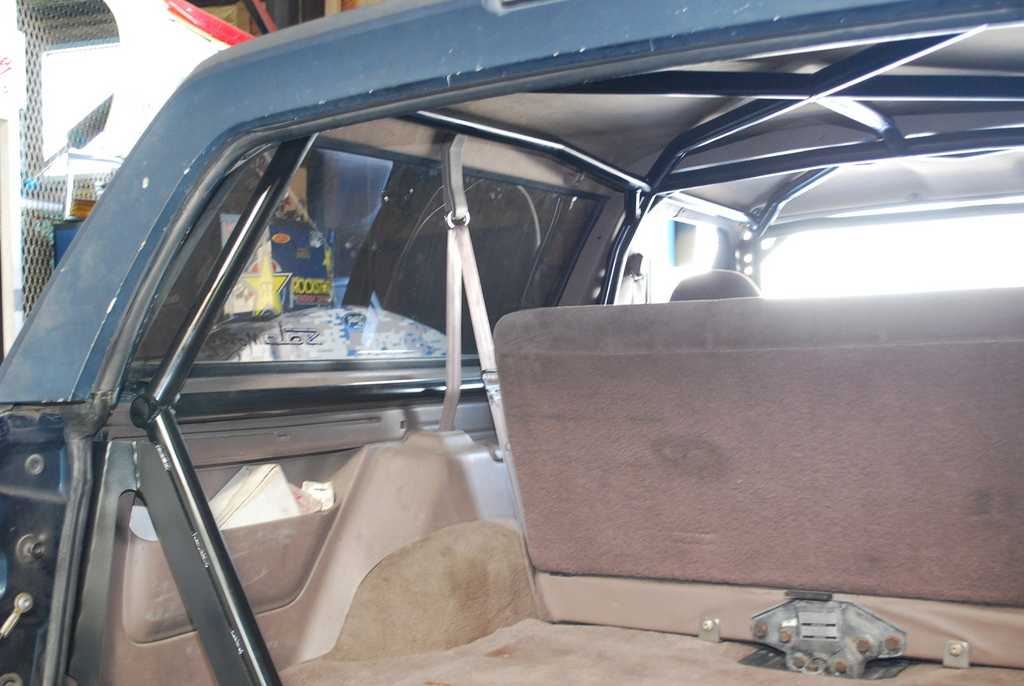 Prerunner Roll Cage Ford Bronco Solo Motorsports