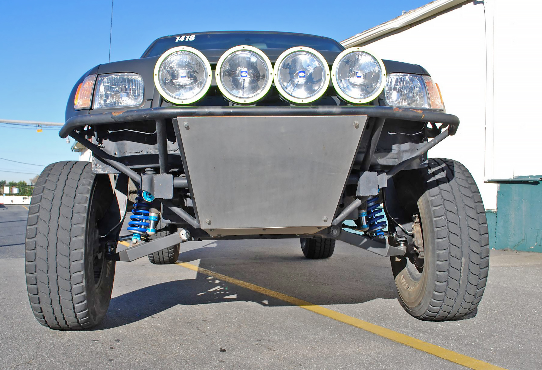 Fully Fabricated Toyota Spindles Solo Motorsports 2004 Truck Lifted