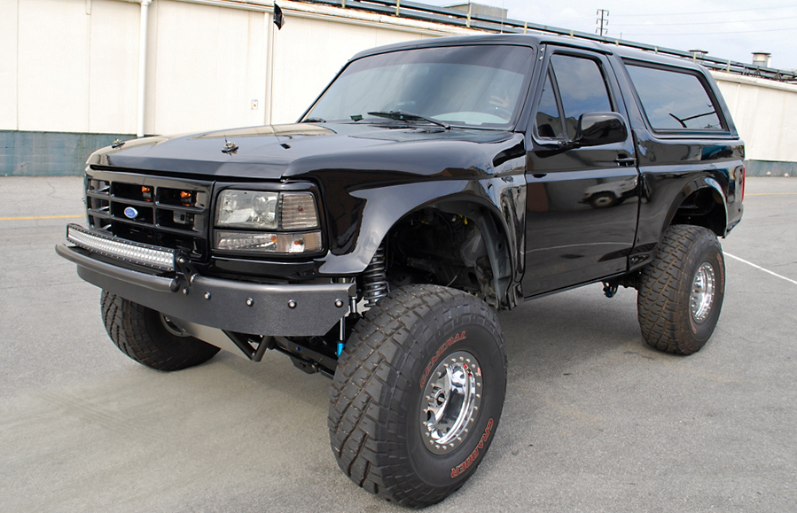 Prerunner Front Bumper With Abs Valance Ford Bronco F150 Solo