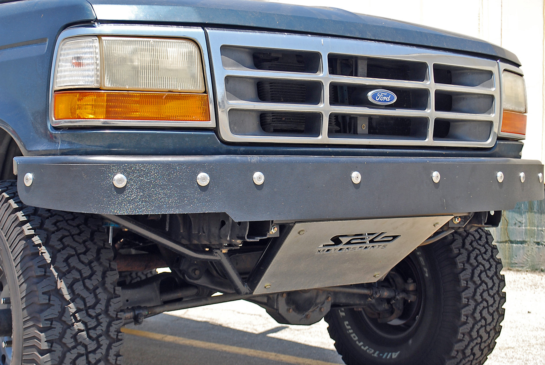 Prerunner Front Bumper With Abs Valance Ford Bronco