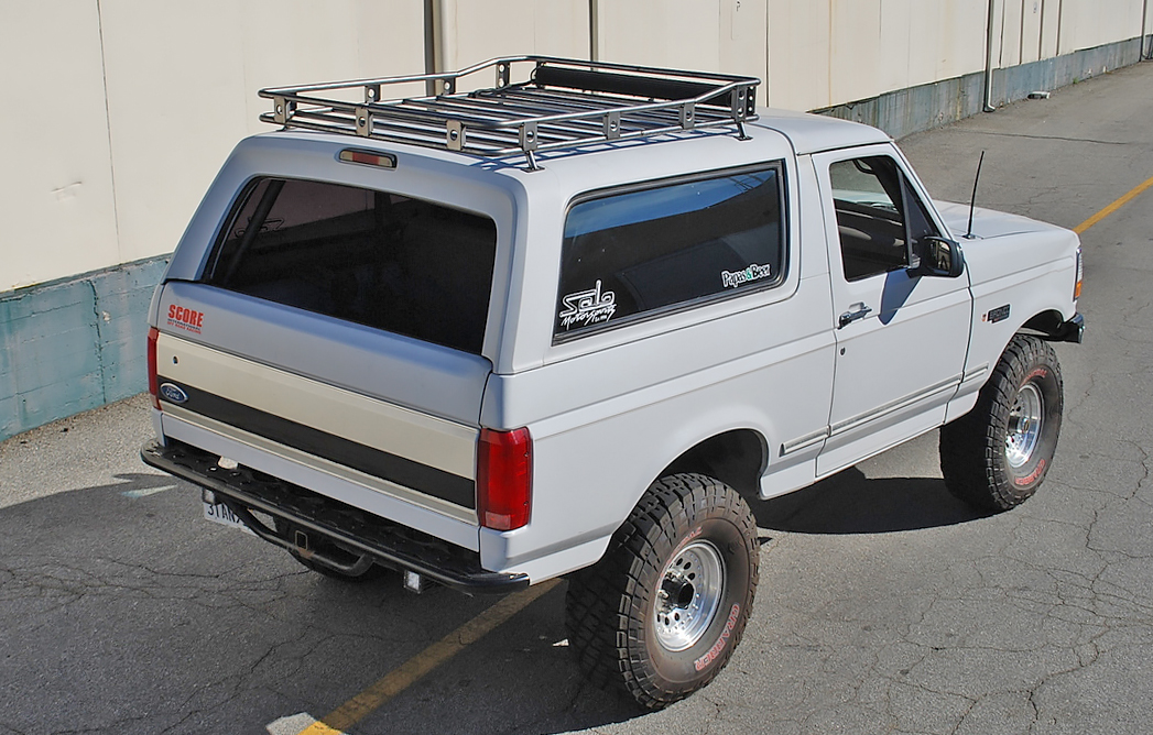 Roof Chase Rack Ford Bronco