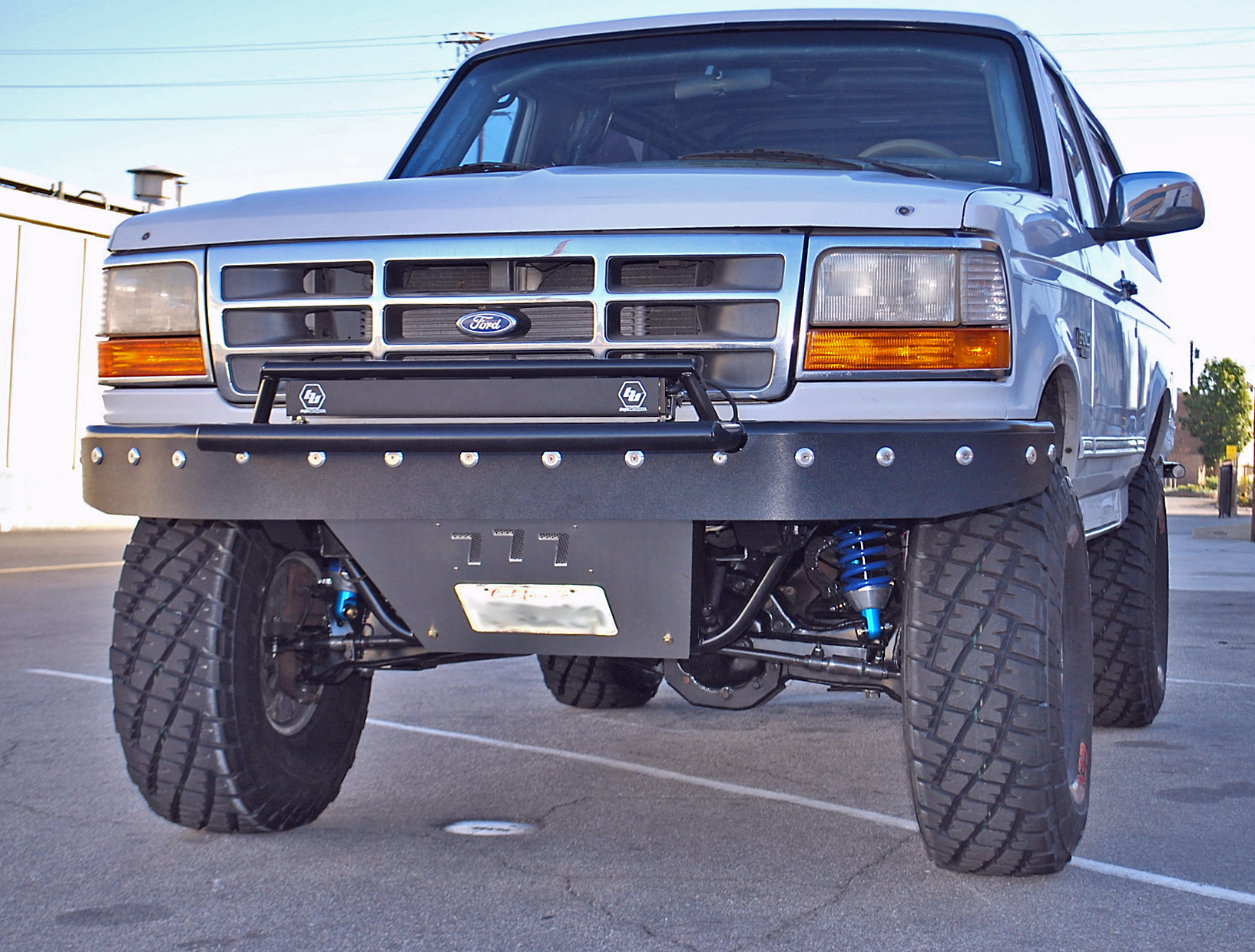 Stage 4 Long-Travel Front+Rear Suspension Kit / Bronco