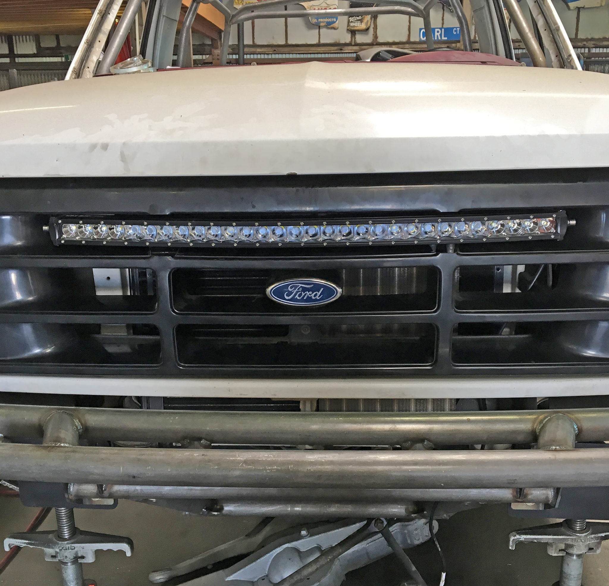 Ford Bronco F Led Lightbar Mounting Brackets