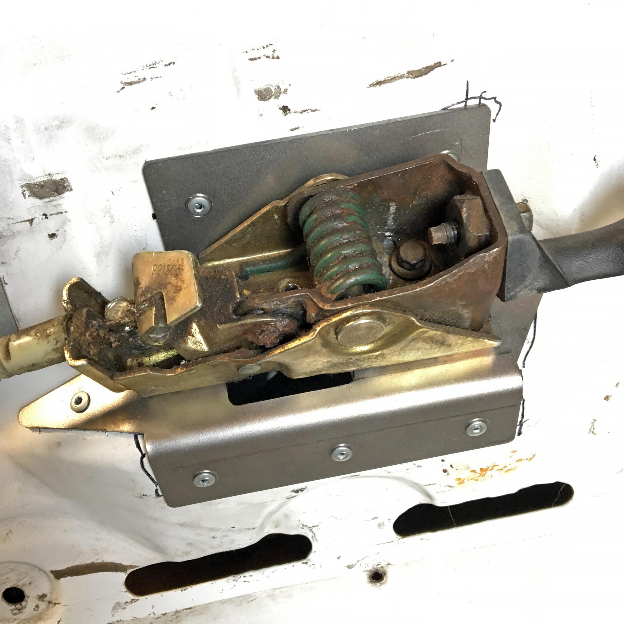 Ford Door Handle Reinforcement Plate Solo Motorsports
