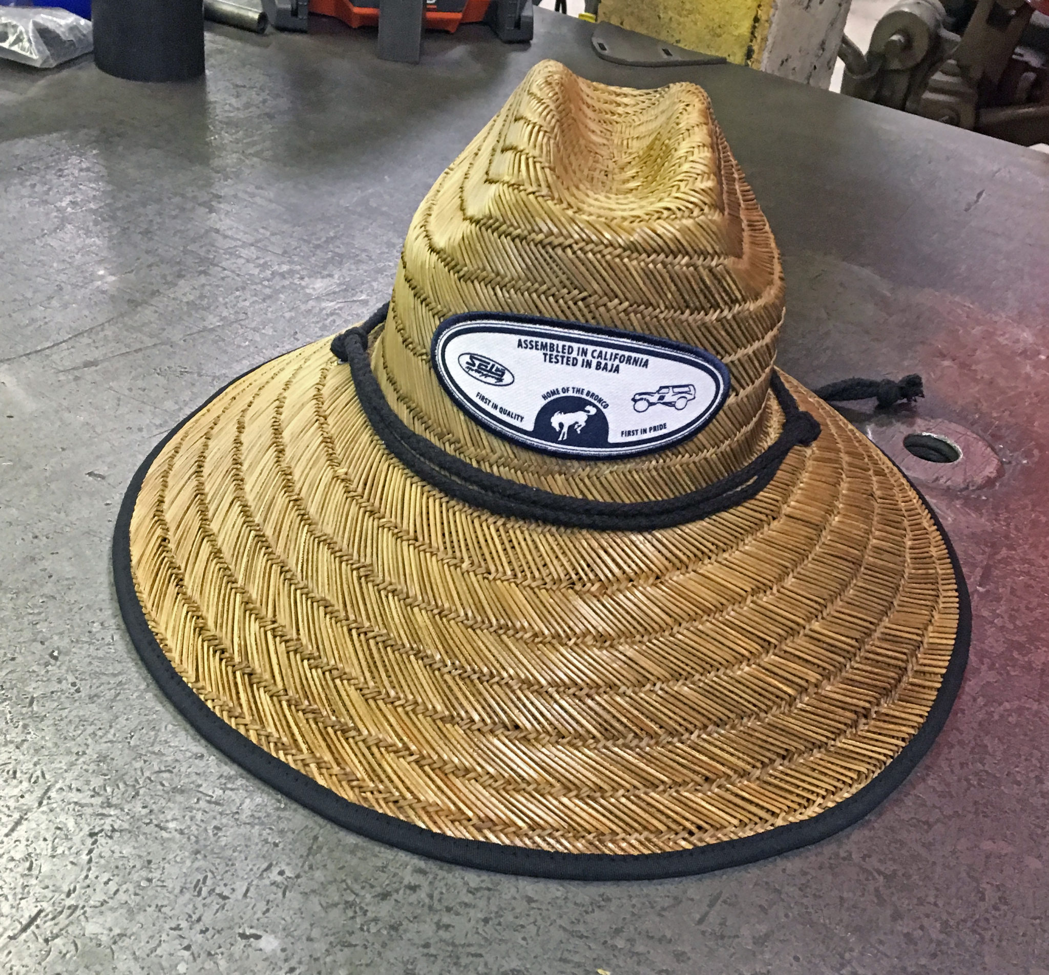 17aad0dc Solo Motorsports Home of the Bronco Straw Hat | Solo Motorsports